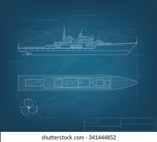Blueprint ship