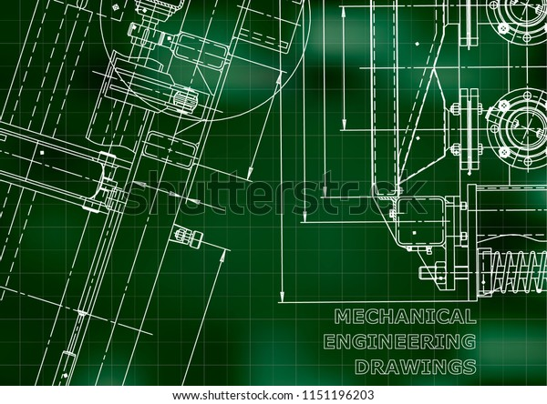 vector engineering illustration  computer aided design systems   instrument-making drawings