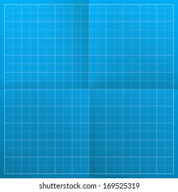 Blueprint. Vector illustration