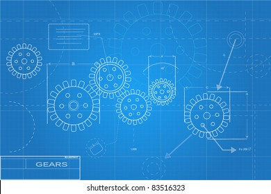 Blueprints Illustration