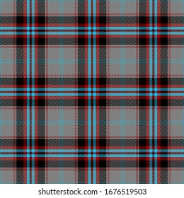 Blue,Red,Gray and Black Tartan Plaid Scottish Seamless Pattern. Texture from tartan, plaid, tablecloths, shirts, clothes, dresses, bedding, blankets and other textile.
