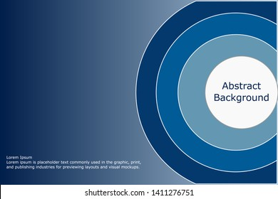 Blues Color Palette circle background, abstract texture background for your design. Design by Inkscape.