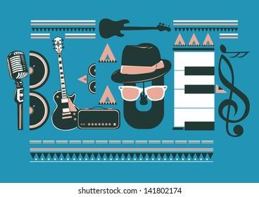 blues images stock vectors shutterstock