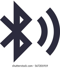 Bluetooth Sign Vector Icon