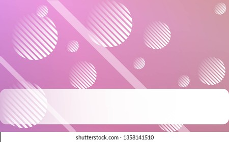 Blur Pastel ColorGradient Background with Line, Circle. For Your Graphic Design, Banner. Vector Illustration