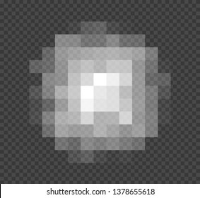 Blured grey squares censorship background. Censored picture vector illustration. Nudity prohibition isolated backdrop.