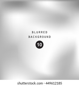 Blurred abstract gradient background for web, presentations and prints. Blur silver image, abstraction in gray color, bright light effect holographic, soft business graphic design wallpaper smooth
