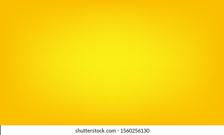 Blurred background. Abstract yellow gradient design. Minimal creative background. Landing page blurred cover. Colorful graphic. Vector