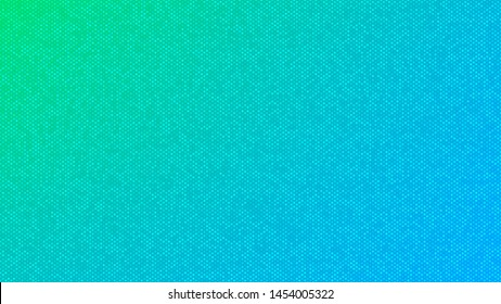 Blurred background. Circle dots pattern. Abstract green and blue gradient design. Round spot texture background. Landing blurred page. Circles bubble or dots pattern. Vector