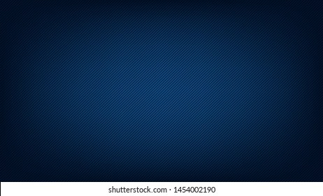 Blurred background. Diagonal stripe pattern. Abstract dark blue gradient design. Line texture background. Landing page blurred cover. Diagonal strips pattern. Vector