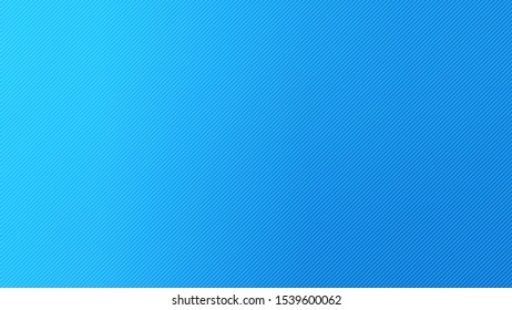 Blurred background. Diagonal stripe pattern. Abstract blue gradient design. Line texture background. Landing page blurred cover. Diagonal strips pattern. Vector