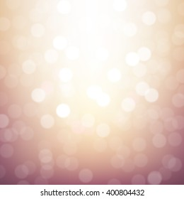 Blurred Background With Gradient Mesh, Vector Illustration