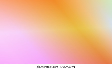 Blurred Background, Smooth Gradient Texture Color. For Your Graphic Wallpaper, Cover Book, Banner. Vector Illustration