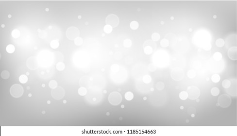 Blurred bright bokeh  background. Vector illustration.