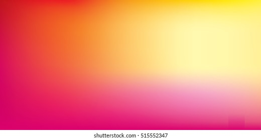 Blurred bright colors mesh background. Colorful rainbow gradient. Smooth blend banner template. Easy editable soft colored vector illustration in EPS8 without transparency.