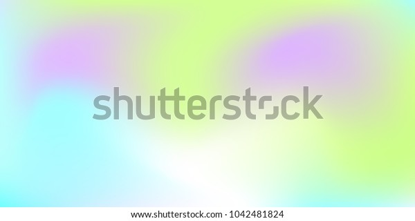 Blurred bright colors mesh background.  Colorful rainbow gradient.   Smooth blend banner template.  Easily editable soft colored vector illustration.  Bright print.