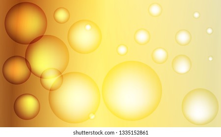Blurred decorative design with bubbles. Design for your header page, ad, poster, banner. Vector illustration