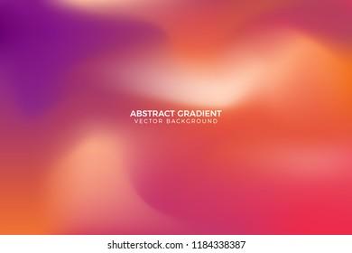 Blurred Gradient Vector Background