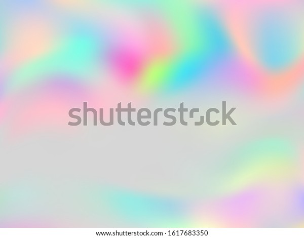 Blurred Hologram Texture Gradient Wallpaper Digital Stock Vector Royalty Free 1617683350