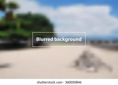 Blurring background. Vector eps 10