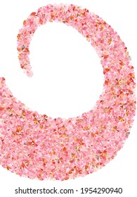 Blush pink spangles confetti placer vector background. Rhythmic gymnastics dress sequins background. Bright flickering spangle particles holiday decoration. Theater costume paillettes.