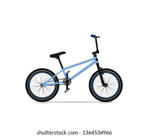 BMX trial freestyle bicycle
