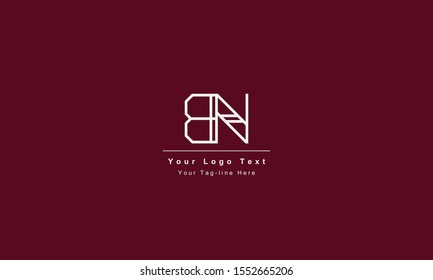 BN or NB letter logo. Unique attractive creative modern initial BN NB B N initial based letter icon logo