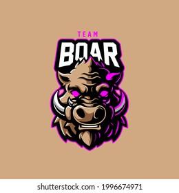 Boar Head Team Esport Logo
