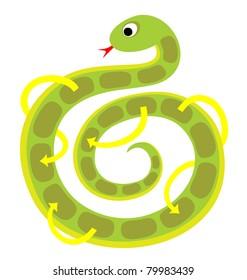 Board Game for Children - Snake