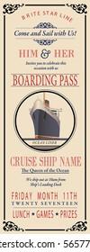 Boarding Pass Invite