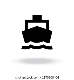 boat icon, boat icon vector