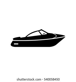 boat Icon Vector Illustration