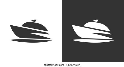 Boat Illustration Symbol Icon Vector