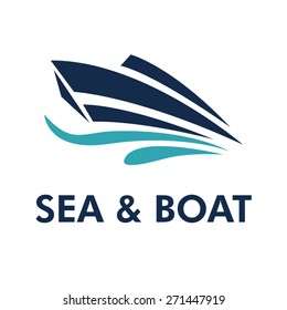 Boat Logo - Brand Identity for Boating Business