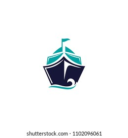 boat logo template