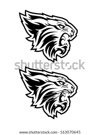 Bobcat Stock Vector Royalty Free 163070645