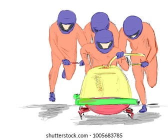 bobsleigh every day