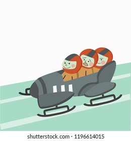 bobsleigh one of the winter sports