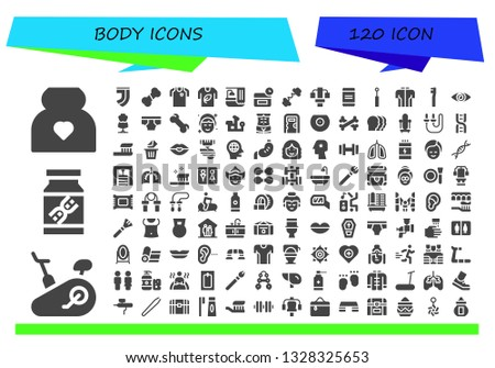 body icon set 120