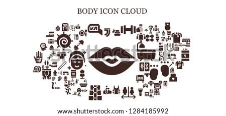 body icon set 93