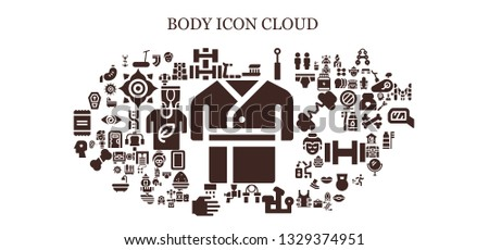 body icon set 93