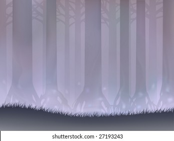 Bog forest (other landscapes are in my gallery)