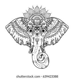 Elephant Head Images Stock Photos Vectors Shutterstock