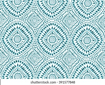Boho tie-dye background. Hippie style. Watercolor effect vector. Textile effect. Shibori. Editable vector made with clipping mask. Batik effect. Trendy wallpaper.