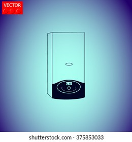 Boiler icon. Vector illustration.