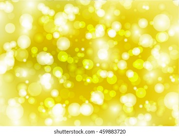 Bokeh Yellow