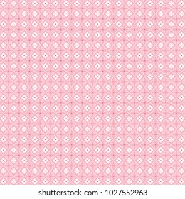 Bold & Crafty Ornate Pink Pattern