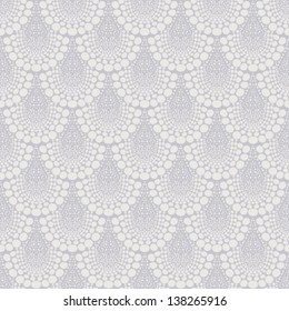 Bold damask geometric ornament in art deco style in shades of grey. Texture for web, print, wallpaper, fall winter fashion fabric, textile design, background for wedding invitation or holiday decor