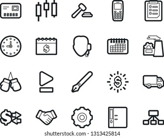 16 Vector Icon Set Purse Money Stock Vector (Royalty Free) 733087705