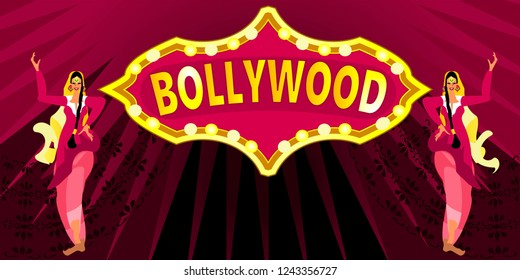 Bollywood, is the Indian Hindi-language film industry, based in the city of Mumbai.Cinematography and theater poster.